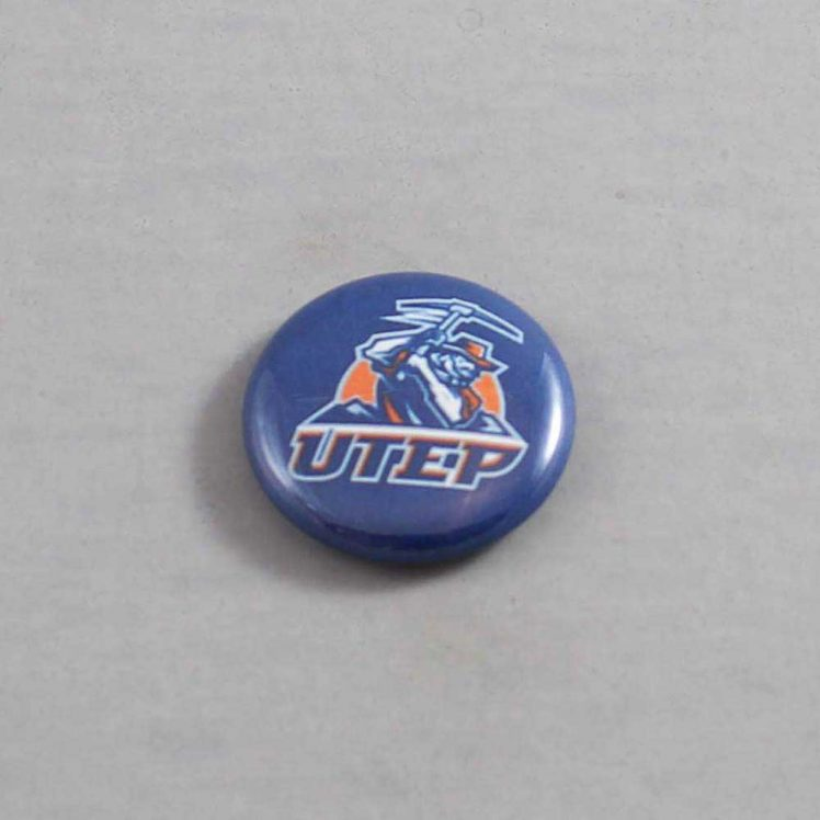 NCAA Texas El Paso Miners Button 01