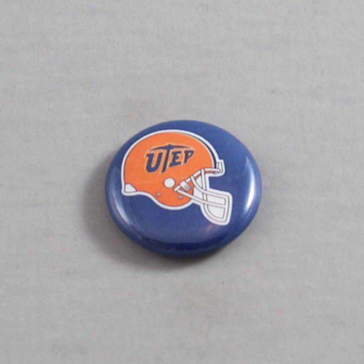 NCAA Texas El Paso Miners Button 02