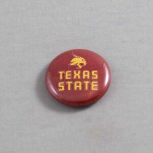 NCAA Texas State Bobcats Button 01