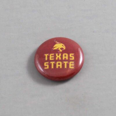 NCAA Texas State Bobcats Button 01