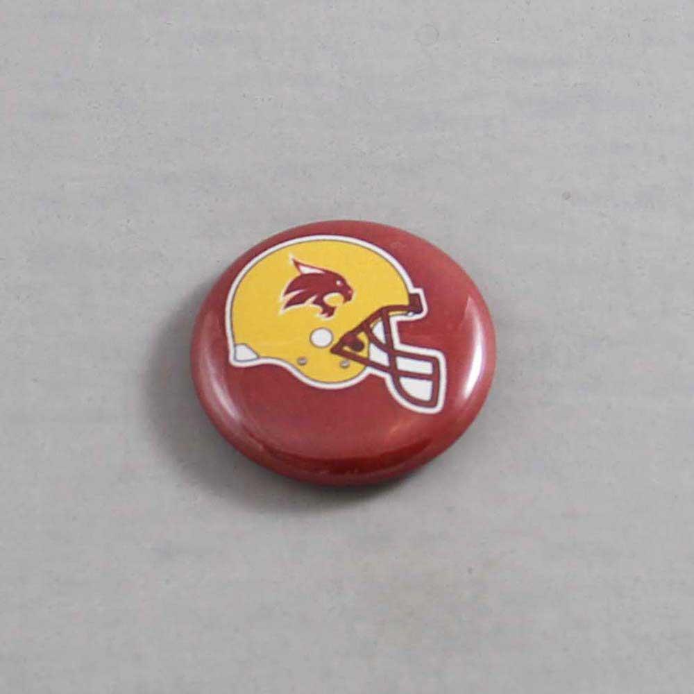 NCAA Texas State Bobcats Button 02