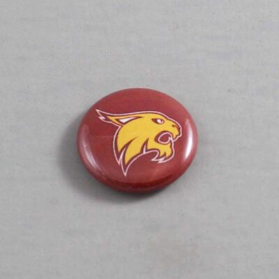 NCAA Texas State Bobcats Button 03
