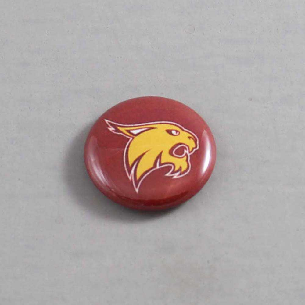 NCAA Texas State Bobcats Button 03