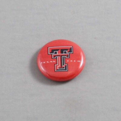 NCAA Texas Tech Red Raiders Button 01