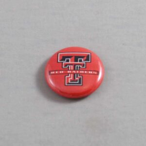 NCAA Texas Tech Red Raiders Button 03