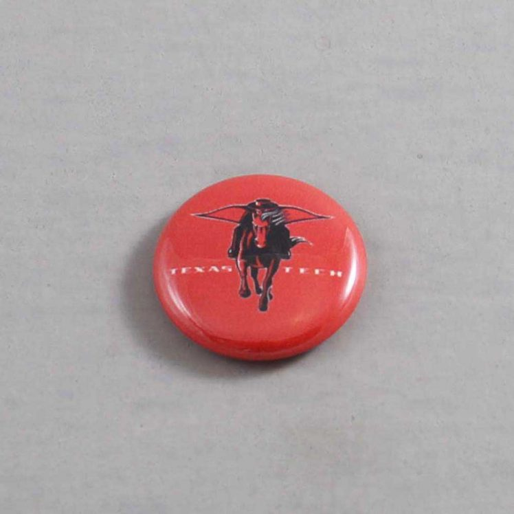 NCAA Texas Tech Red Raiders Button 04