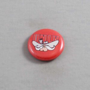 NCAA UNLV Runnin Rebels Button 04