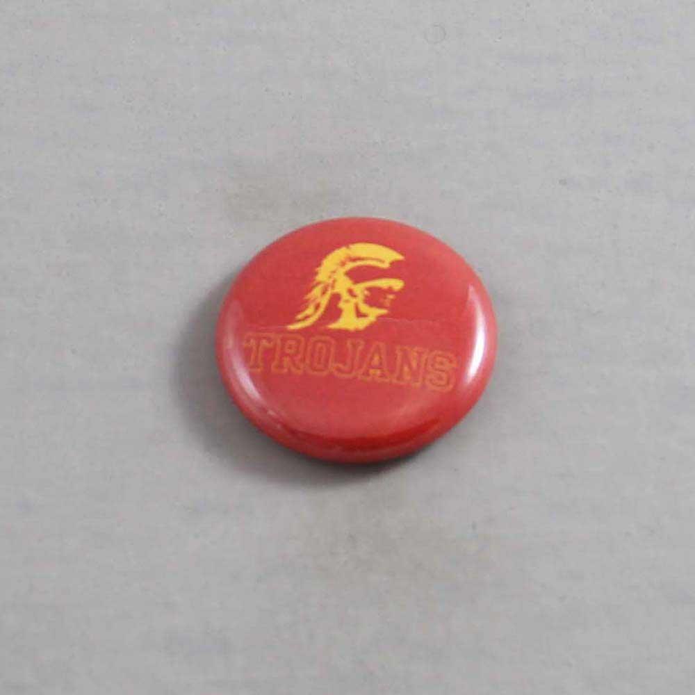 NCAA USC Trojans Button 03