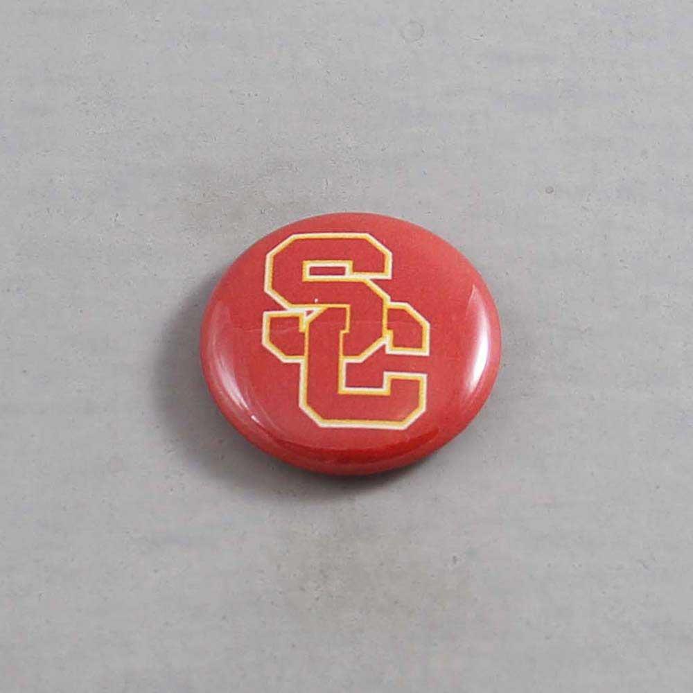 NCAA USC Trojans Button 07