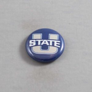 NCAA Utah State Aggies Button 04