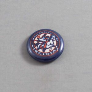 NCAA Virginia Cavaliers Button 03