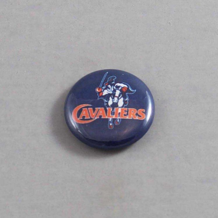 NCAA Virginia Cavaliers Button 04