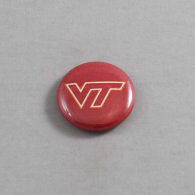 NCAA Virginia Tech Hokies Button 01