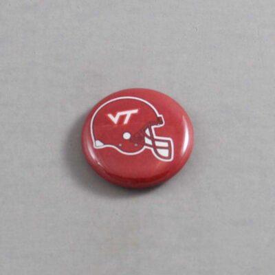 NCAA Virginia Tech Hokies Button 02