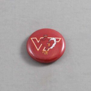 NCAA Virginia Tech Hokies Button 03