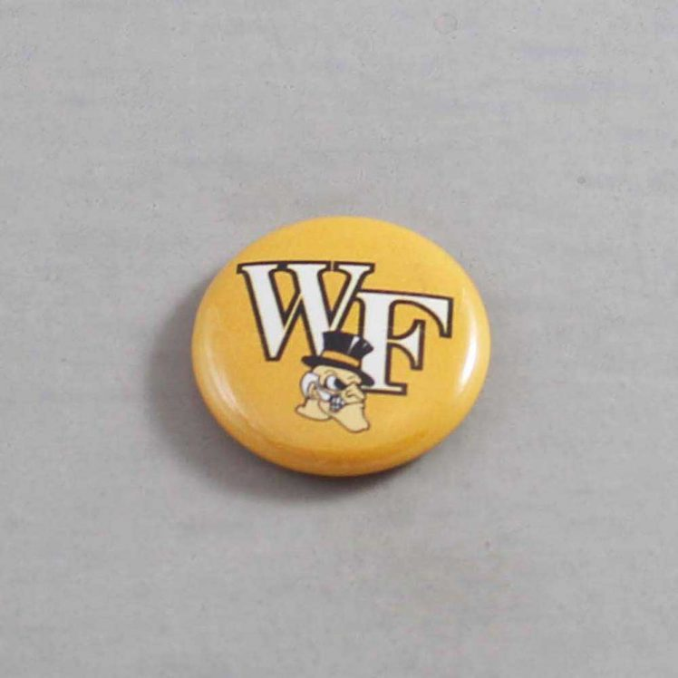 NCAA Wake Forest Demon Deacons Button 04