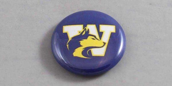 NCAA Washington Huskies Button 05