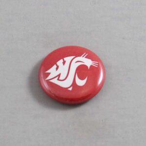 NCAA Washington State Cougars Button 02