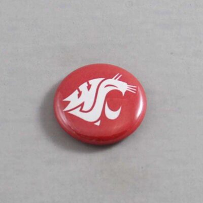NCAA Washington State Cougars Button 02