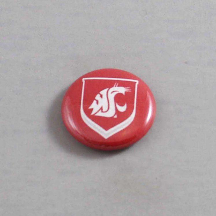 NCAA Washington State Cougars Button 04