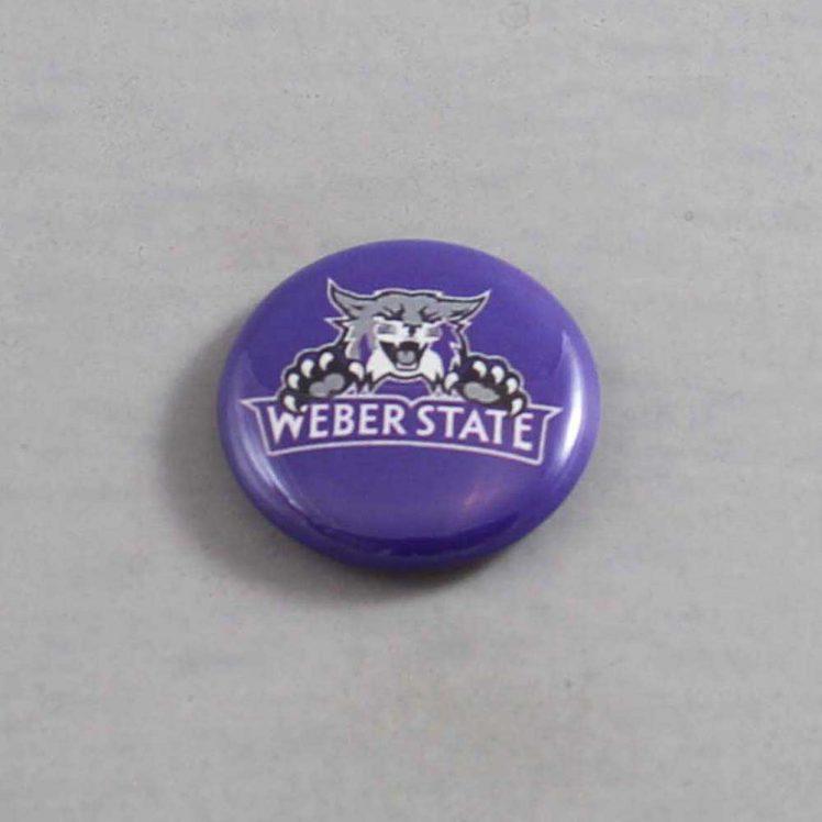 NCAA Weber State Wildcats  Button 01