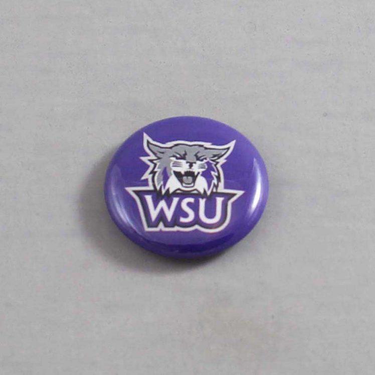 NCAA Weber State Wildcats  Button 02