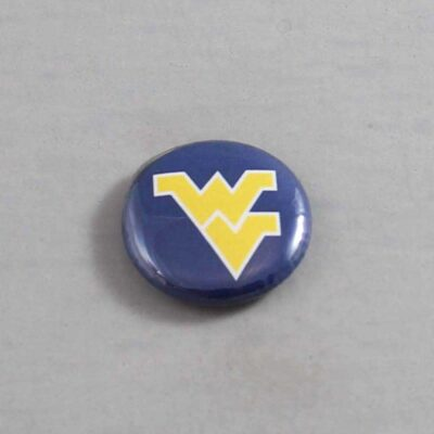 NCAA West Virginia Mountaineers Button 01