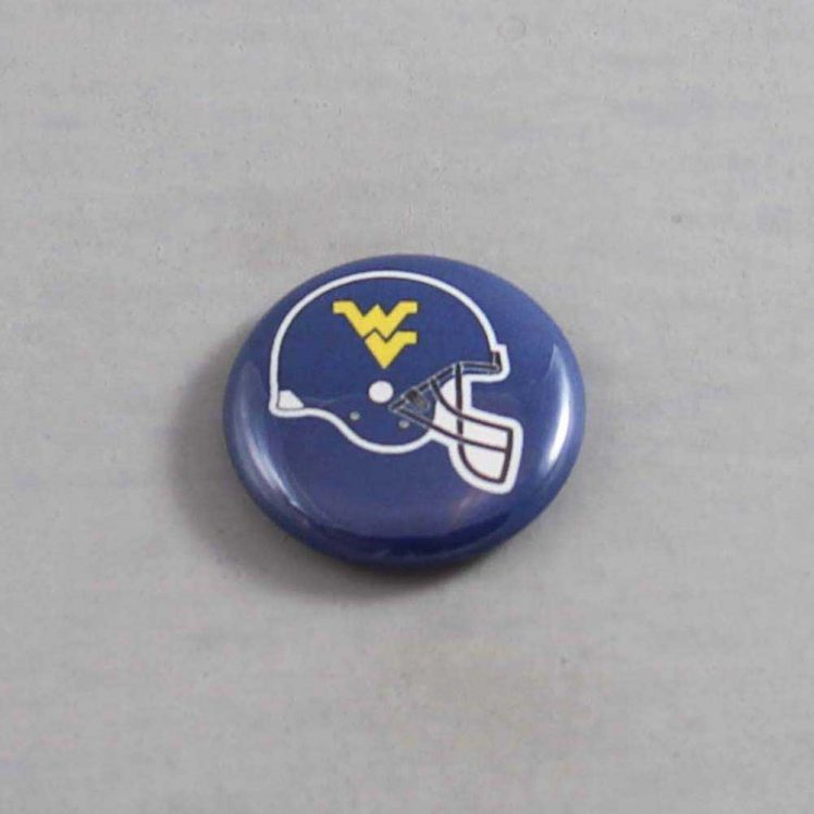 NCAA West Virginia Mountaineers Button 02