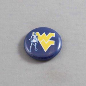 NCAA West Virginia Mountaineers Button 03