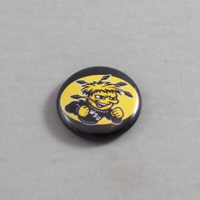 NCAA Wichita State Shockers Button 03