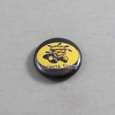NCAA Wichita State Shockers Button 04