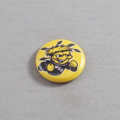NCAA Wichita State Shockers Button 06
