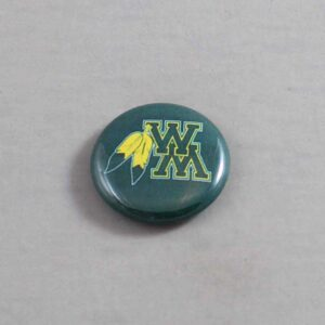 NCAA William & Mary Tribe Button 04
