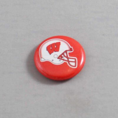 NCAA Wisconsin Badgers Button 02