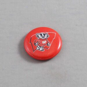 NCAA Wisconsin Badgers Button 03