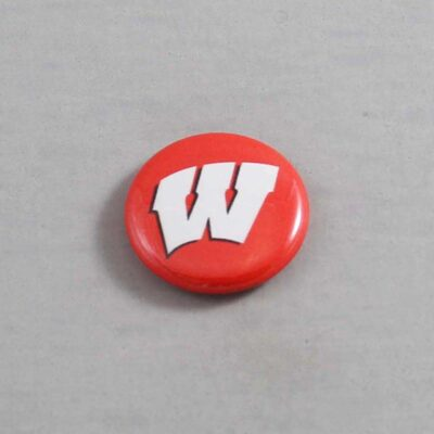 NCAA Wisconsin Badgers Button 06