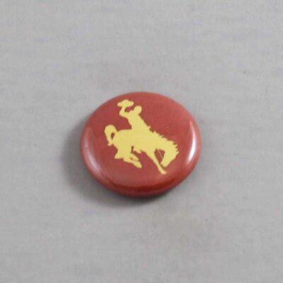NCAA Wyoming Cowboys Button 01
