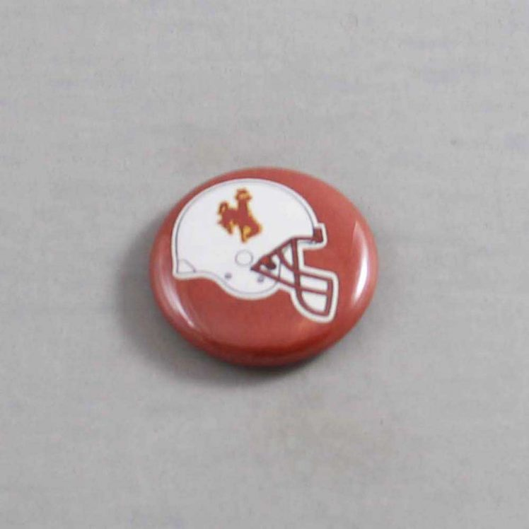 NCAA Wyoming Cowboys Button 02