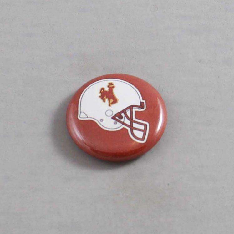 NCAA Wyoming Cowboys Button 03