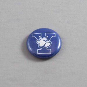 NCAA Yale Bulldogs Button 01