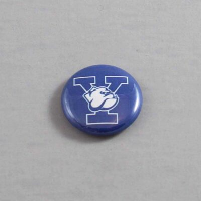 NCAA Yale Bulldogs Button 01