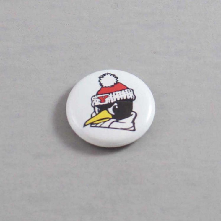 NCAA Youngstown State Penguins Button 04