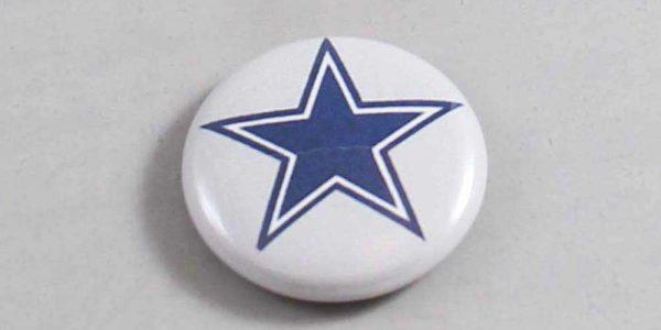 NFL Dallas Cowboys Button 01