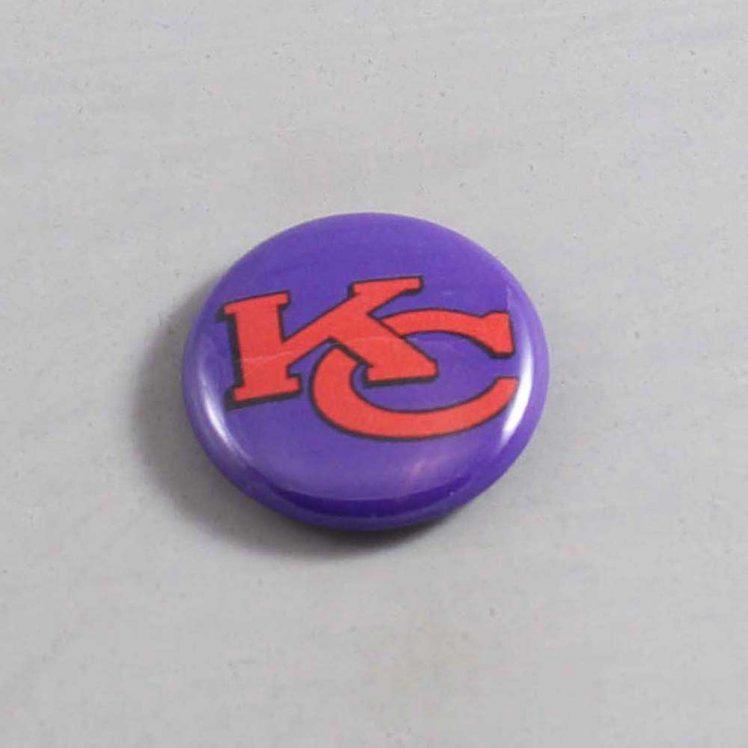 NFL Kansas City Chiefs Button 12