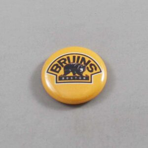 NHL Boston Bruins Button 01