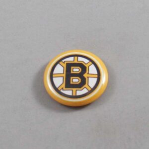 NHL Boston Bruins Button 03