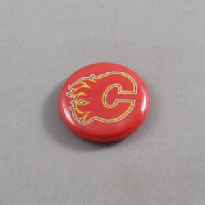 NHL Calgary Flames Button 01