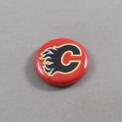 NHL Calgary Flames Button 03