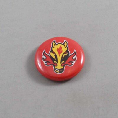 NHL Calgary Flames Button 04