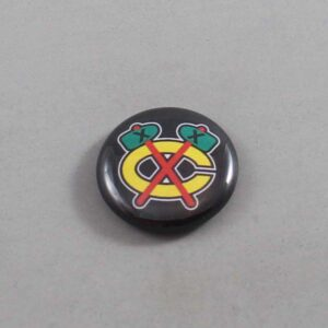 NHL Chicago Blackhawks Button 04